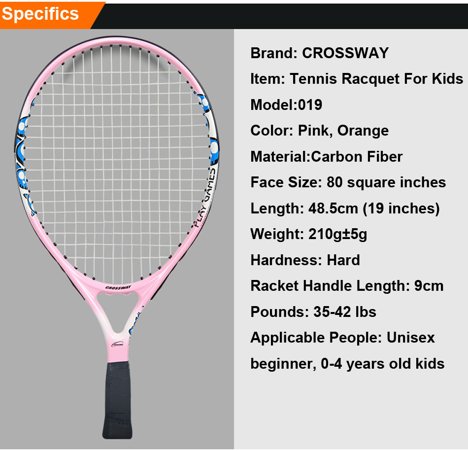 19 Inch Light Weight Tennis Racquet Children Racket Kid Parts Of A Detailed Description And Diagram 1 Tb2uyf Xp55v1bjy0foxxbvjfxa 2271759873