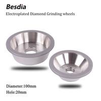 Taiwan Besdia Diamond Grinding Wheel 100D 19 05 3 4 H 20H