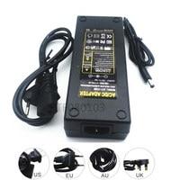DC Power 12V 10A AC 100V 240V 12V10A LED Strip Power Adapter LED Power Supply Adapter