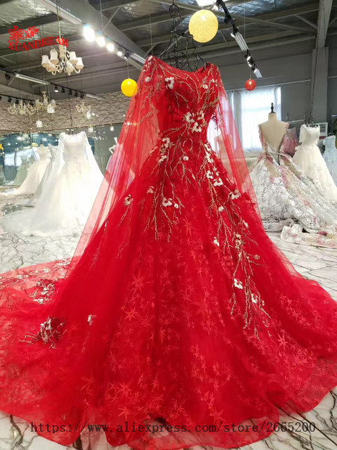 Robe mariee rouge chinoise