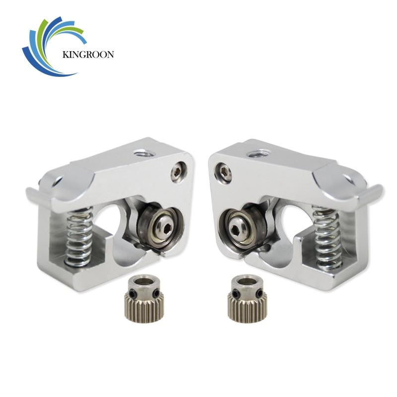 Mk10 remoto extrusora directa parte de aluminio extrusión 1.75mm mano izquierda derecha brazo Full Metal Bowden Impresoras piezas de aluminio