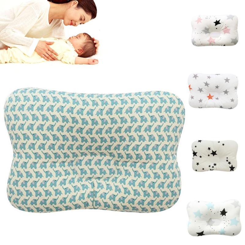 Soft baby pillow newborn sleeping pillow cushion Infant cotton pillow to prevent flat head headrest sleep positioner bedding R4