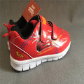 Retail one pair  Free shipping boy shoes little cars new cartoon character  red sports school casual shoes high quality