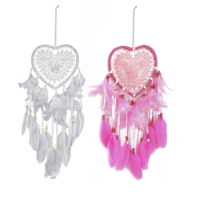 Dream Catcher Dromenvanger Dreamcatcher Love Heart Good Luck Creative Shape Vintage