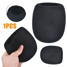 1Pc High Quality Pop Filter Windscreen Microphone Sponge Foam Cover For Blue Yeti Pro Mic Replacement Black