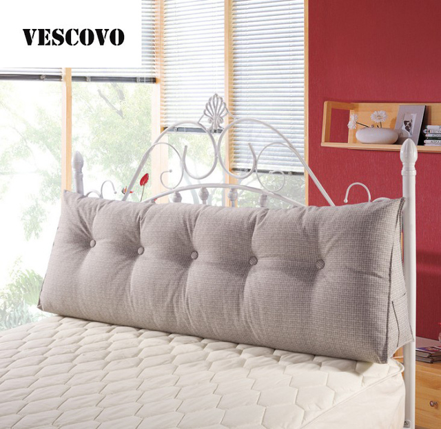vescovo baumwolle sitzkissen keil kissen f r bett r ckenlehne kissen gro e taille kissen in. Black Bedroom Furniture Sets. Home Design Ideas