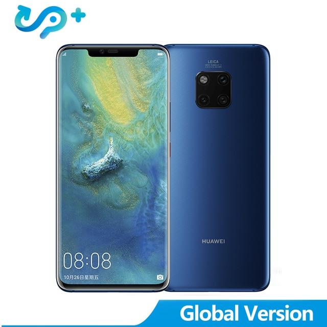 "Global Version Mate 20 PRO 6G 128G Mobile Phone 4G LTE Octa Core 6.39"" 3120*1440 4200mAh Fingerprint ID NFC"
