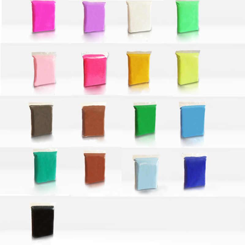 3D многоцветная глина для моделирования 100 г/пакет мягкая полимерная глина DIY Развивающие игрушки для детей пушистая слизь