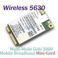 Desbloqueado Gobi3000 sem fio 3 G WWAN Broadband Mini PCIe Card HSPA + / EV-DO 14.4 M / 3.1 Mbps HSPA borda WCDMA para DELL 5630 E5420 E6320