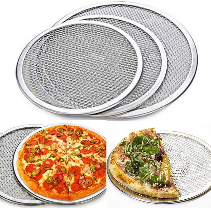 Newcomdigi New Seamless Aluminum Pizza Screen Baking Tray