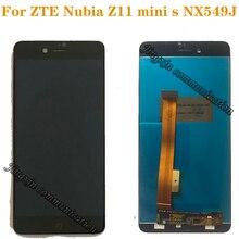 """5.2 """"ل ZTE nubia Z11 الثياب LCD + شاشة تعمل باللمس ل nubia Z11 البسيطة S NX549J عرض الهاتف المحمول إصلاح أجزاء شحن مجاني"""