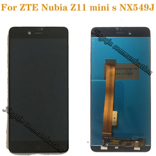 """5.2""""for ZTE Nubia Z11 MiniS LCD + touch screen for nubia Z11 MINI S NX549J display mobile phone repair parts free shipping"""