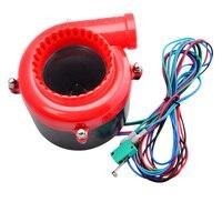 Modificação do carro de Sucção Natural Turbina Sirene Eletrônica Grande Som de Simulação de Válvula de Alívio de Pressão Modificado Horn Turbina
