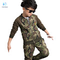 Kids Children's sports suit boy sets clothing set winter Boy camouflage Sweatshirts suit Children uniforms boy winter  30#