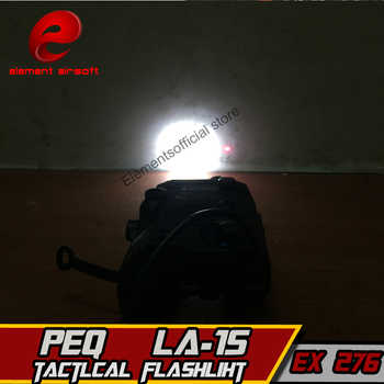 Element Softair LA-15 PEQ 15 IR Lamp Tactical Flashlight red Laser IR Weapons For Airsoft Tatical Waffen Military Hunting Light