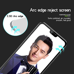 Image 4 - TOPK Screen Protector for Honor 10 Tempered Glass HD Clear Full Coverage  Protective Film for Honor 10 Protector Glass