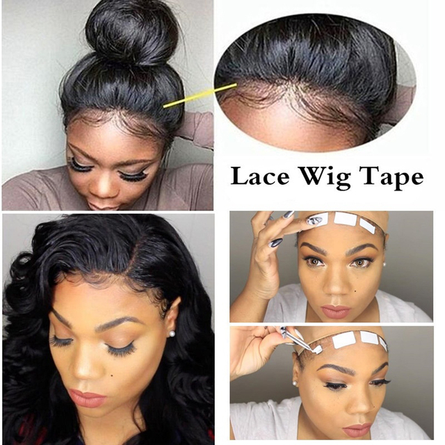 3.0 Metre/ Roll Lace Wig Glue Double Side Glue Tape Sticky adhesives Tape for Hair Extension Tape Skin Weft Hair Extensions Tool