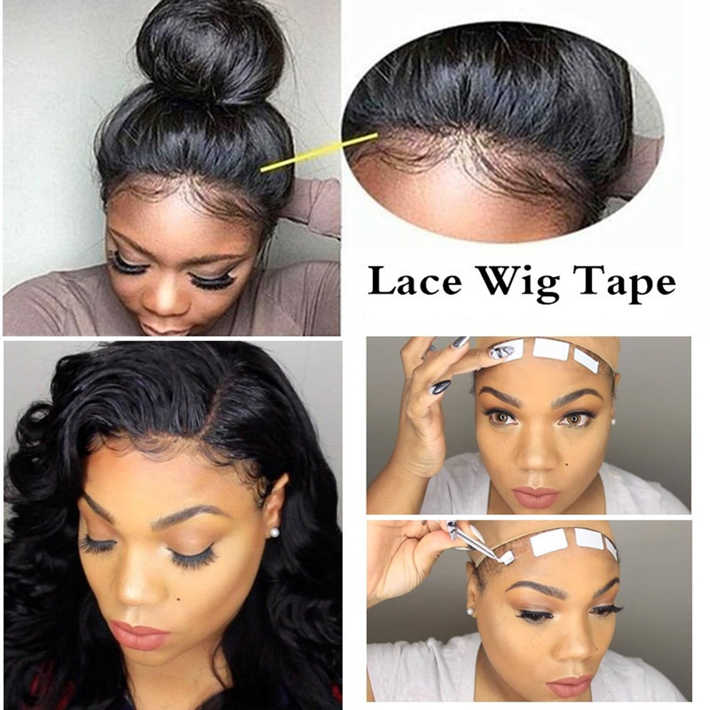 3.0 Metre/ Roll Lace Wig Glue Double Side Glue Tape Sticky adhesives Tape for Hair Extension Tape Skin Weft Hair Extensions Tool bicycle helmet