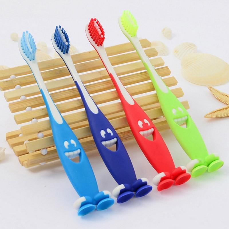 4 Pcs Lot Soft Bristle Oral Hygiene Mouth Clean Catoon