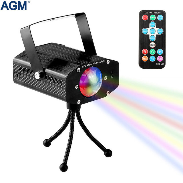 Big Sale 7 Colors Rotating Laser Projector Sound activated Lumiere Christmas Stage Lighting Effect Lamp Disco Party Club DJ Strobe Lights