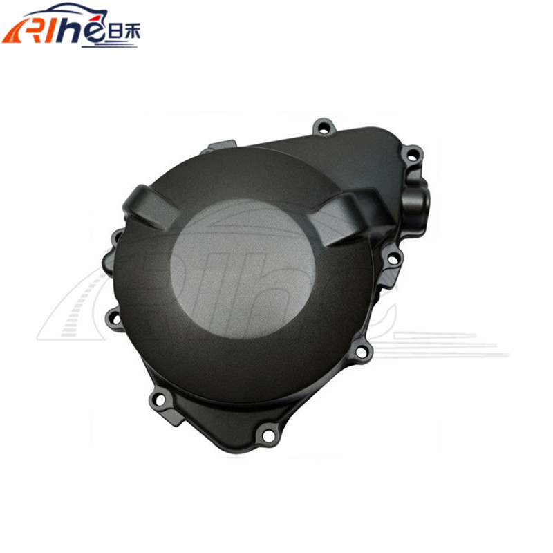 motorcycle parts black left engine stator cover aluminum engine stator crank case cover for HONDA CB919F CB900 2002-2007 03 04 aftermarket free shipping motorcycle parts billet engine stator cover for honda cbr600rr f5 2007 2012 chrome left