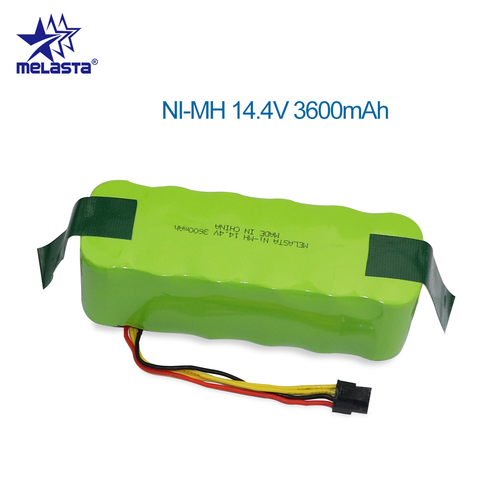 NI-MH 14.4V 3600mAh Battery for panda X500 X600 Replacement battery for Ecovacs Mirror CR120 Vacuum cleaner Dibea X500 X580 replacement 3 7v 3600mah extended battery w battery cover case for lg optimus l7 p700