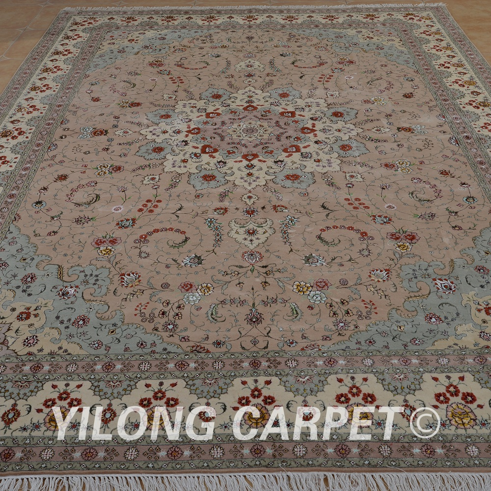 Yilong 10u0027x14u0027 Turkish Wool Rug Manufacturers Handmade Exquisite Pink Wool  Carpet Suppliers (1494) In Carpet From Home U0026 Garden On Aliexpress.com    Alibaba ...