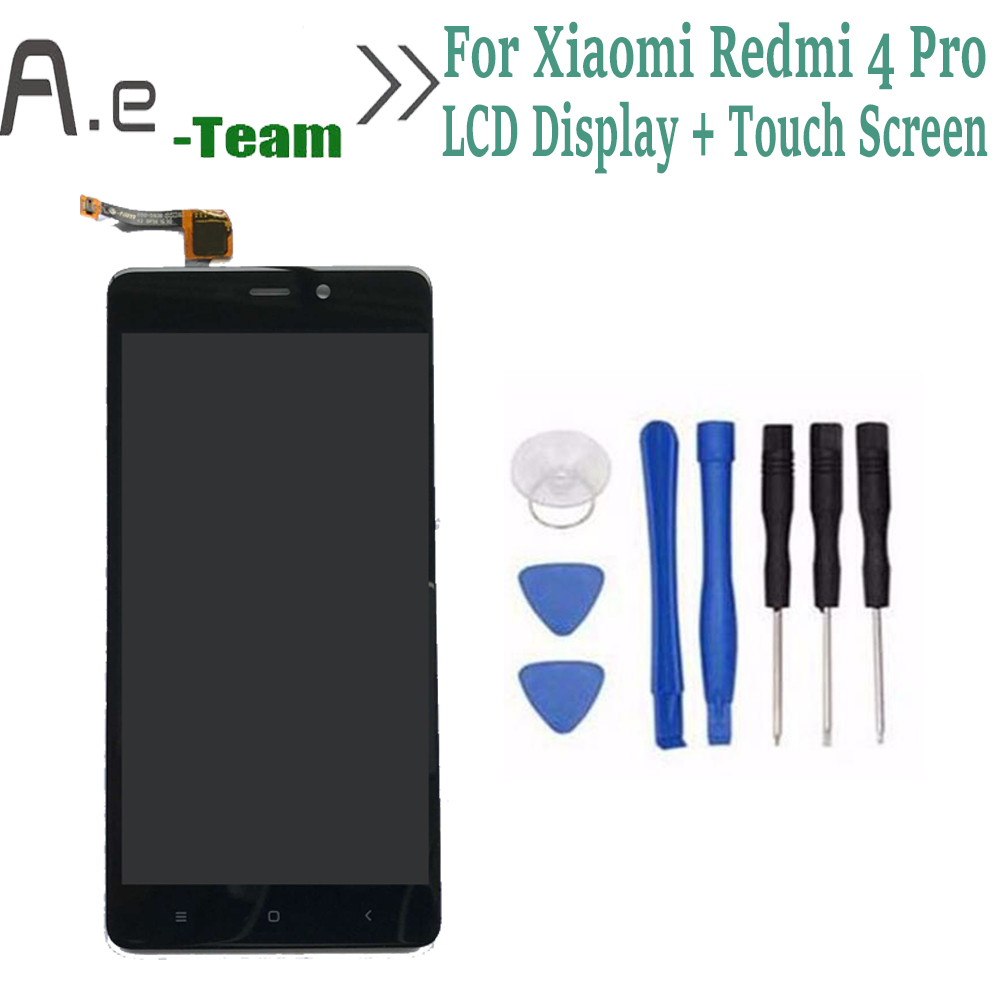 ФОТО High Quality For Xiaomi Redmi 4 Pro LCD Display+Touch Screen Digitizer Replacement For Xiaomi Redmi 4 Pro Prime 5.0