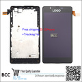 100% Guarantee Original LCD Display Touch Digitizer Screen with frame Assembly For Nokia Lumia 540 Test ok