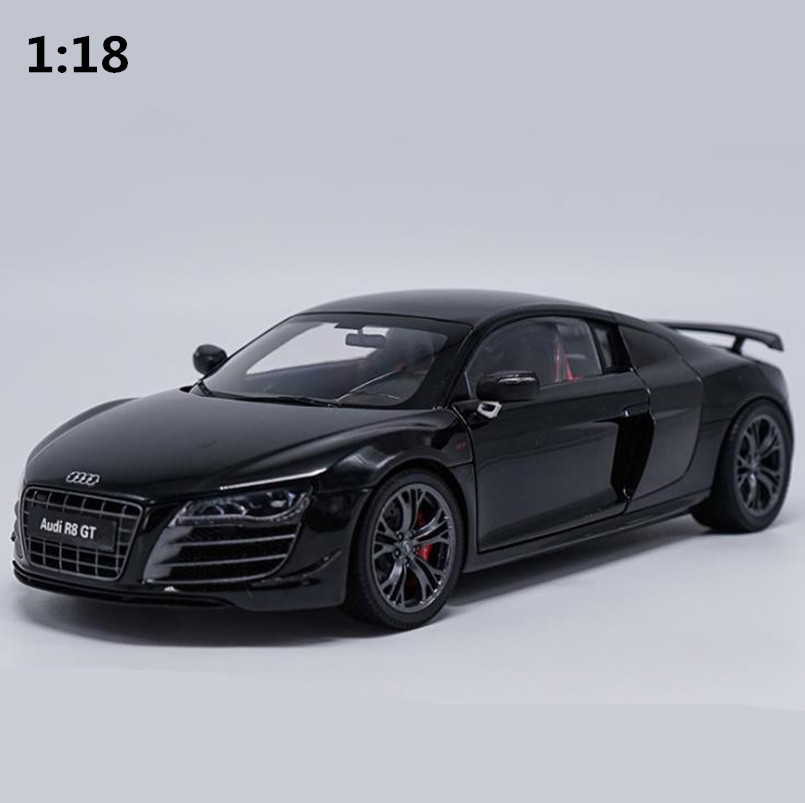 High simulation R8GT sports car model 1:18 advanced alloy collection toy vehicle,diecast metal model,free shipping цены онлайн