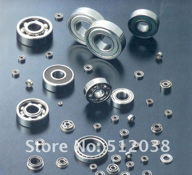 10pcs 6203 ZZ Double Shield Radial Deep Groove Ball Bearings 17 x 40 x 12mm image