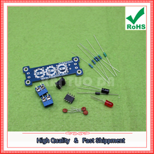 Free Shipping 5pcs Power step up module 5V + 12V step-up board MC34063 module DIY electronic production kit converter