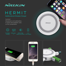 4 Ports 2A Charger + USB Hub 3.0 Data Transmission Nillkin Multifunctional Qi Wireless Charger For Samsung S6 S7 Edge Plus