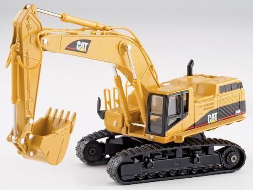 1/50 DiCast Модель Caterpillar Cat 365B Серии L II Экскаватор Norscot 55058 Строительные машины игрушки