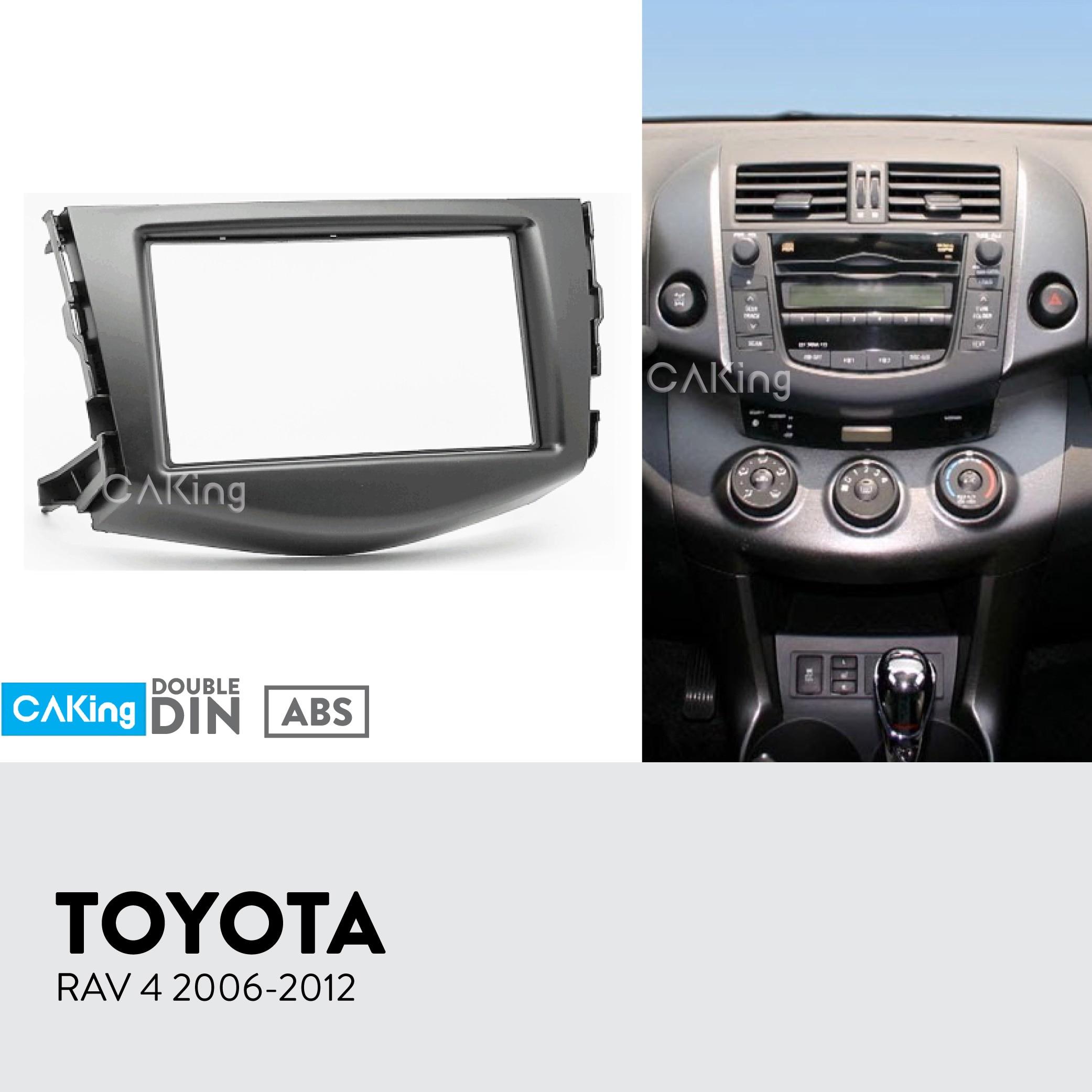 CT23TY84 pour TOYOTA RAV4 2001-2005 Simple Din Autoradio fascia panel