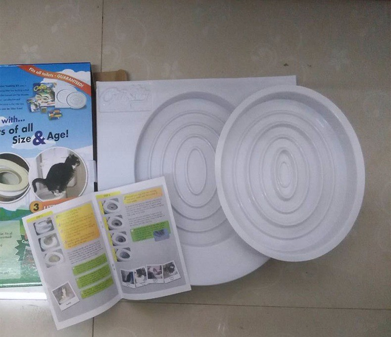 EASY TO LEARN CAT TOILET TRAINING KIT 10