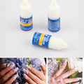 hot sale  Nail Art Decoration Tips 3x 3g Fast Drying Acrylic Glue False French Manicure nail art tools