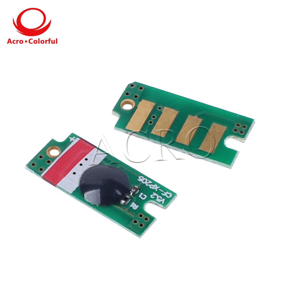 5 sets CT201591 CT201592 CT201593 CT201594 toner Chip Reset for Xerox DocuPrint <font><b>CP105</b></font> CP205 CM205 CM215 M215 laser printer image