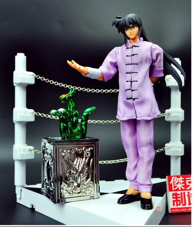 Figure Set Jacksdo Saint Seiya Seiya Shiryu Hyoga Ikki Shun Casual Wear Ver