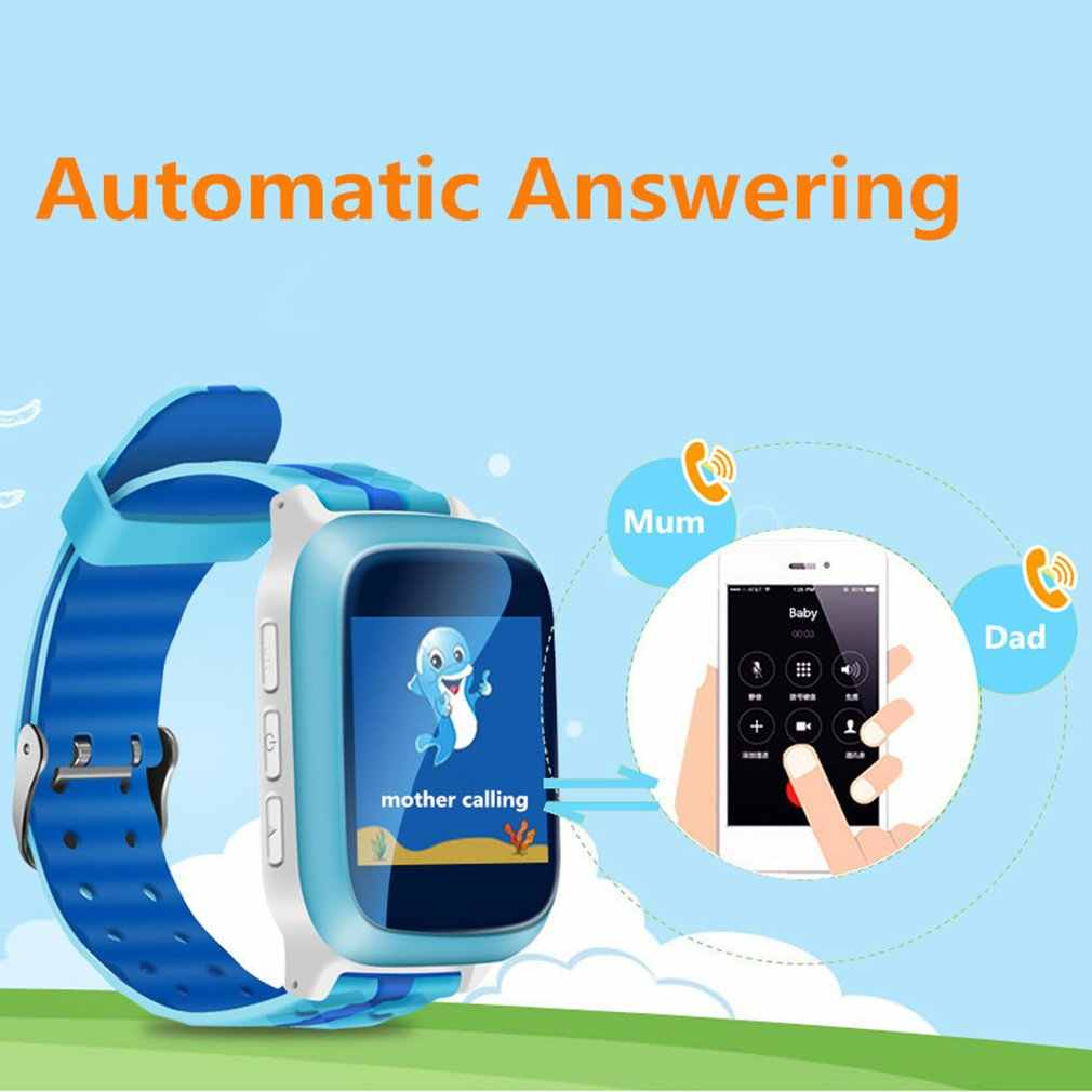 Q85 GPS-AGPS-LBS Anti Lost Child Tracker SOS Positioning Tracking Daily Waterproof Baby Smart Watch Birthday Gifts For Kids