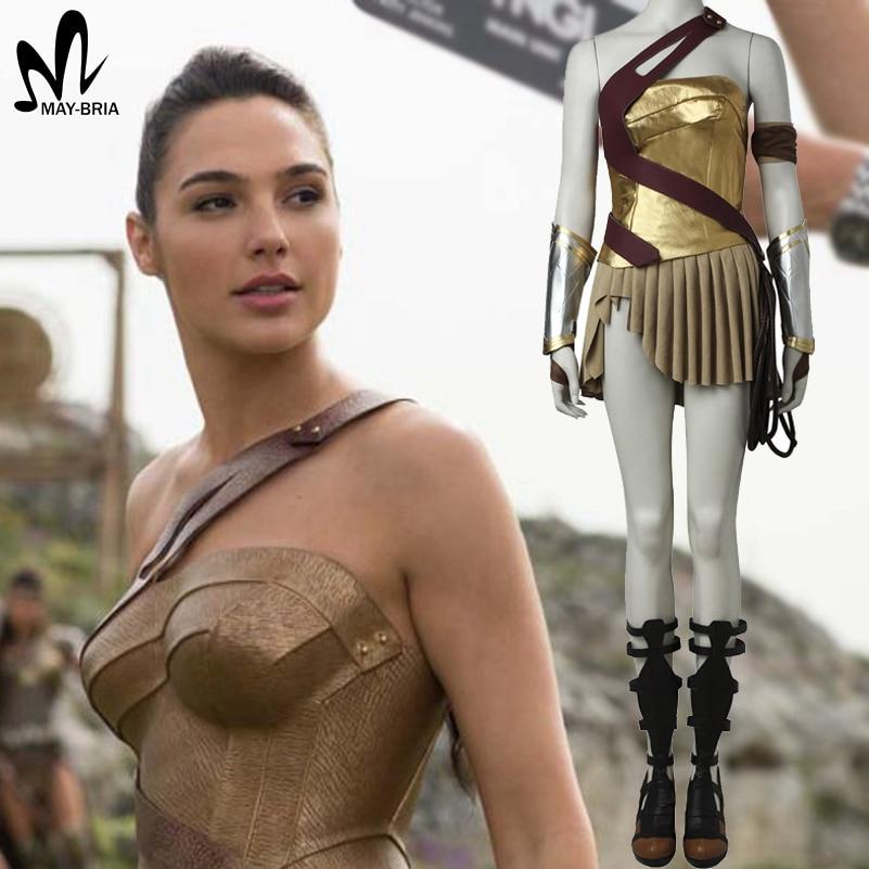 Womens Wonder Woman Costume Dhalloween