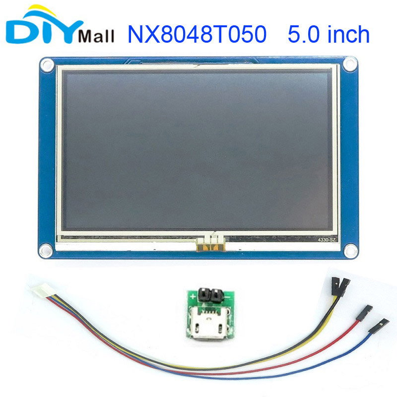 Nextion 5.0 TFT 800x480 NX8048T050 HMI Resistive Touch Screen UART Smart Display Module  ...