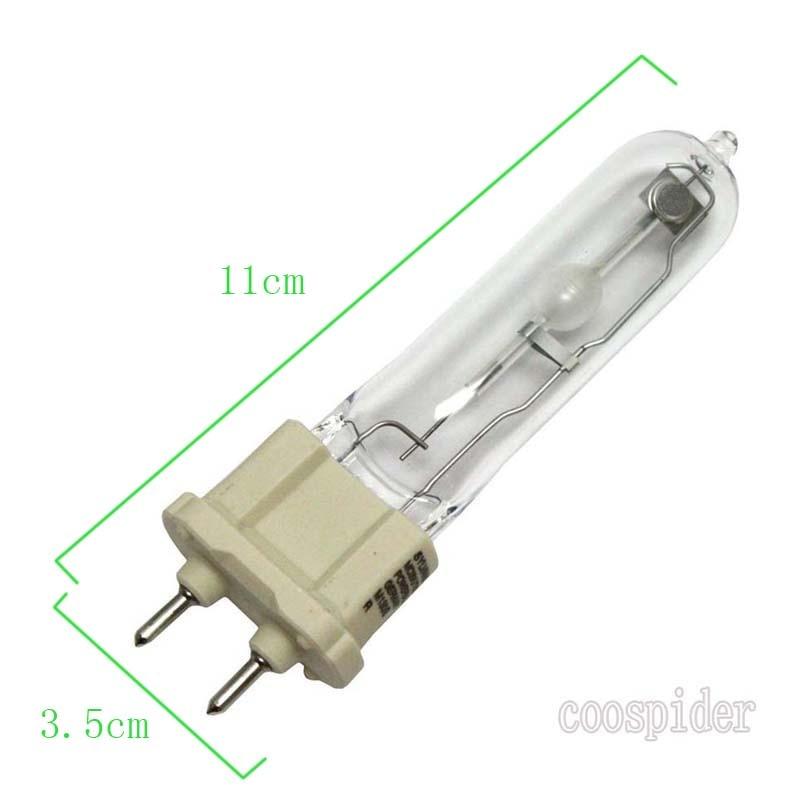 T6 BI-PIN G12 35watt Metal Halide Light Bulb, UVA+UVB Metal Halide Broad-spectrum Replace 35w PAR30 metal halide uvb lamp Bulb