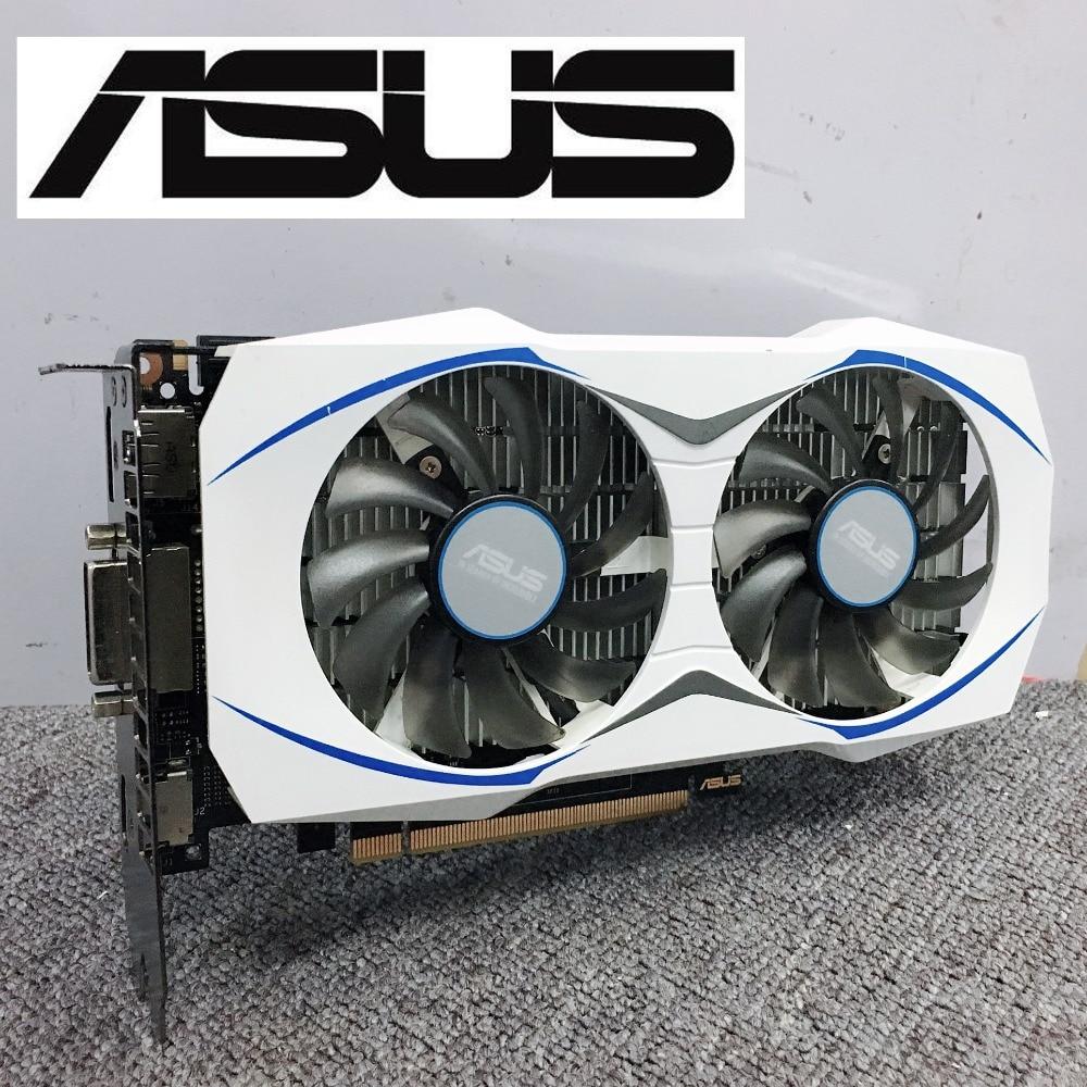 Asus GTX 950 2GB GT950 GTX950 2G D5 DDR5 128 Bit nVIDIA PC Desktop Graphics Cards