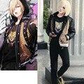 Yuri!!! on Ice Plisetsky Yuri Cosplay uniform cosplay costume Sports coat punk tiger tshirt pants set