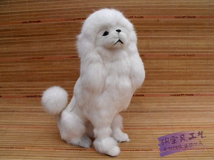 new simulaiton sitting dog toy polyethylene & furs big poodles doll gift about 22x12x32cm 0910 mad about organics all natural dog