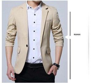 Image 4 - Mwxsd brand Mens casual slim fit solid suit Blazer jacket men wedding dress blazer male black suit hombre blazer masculino