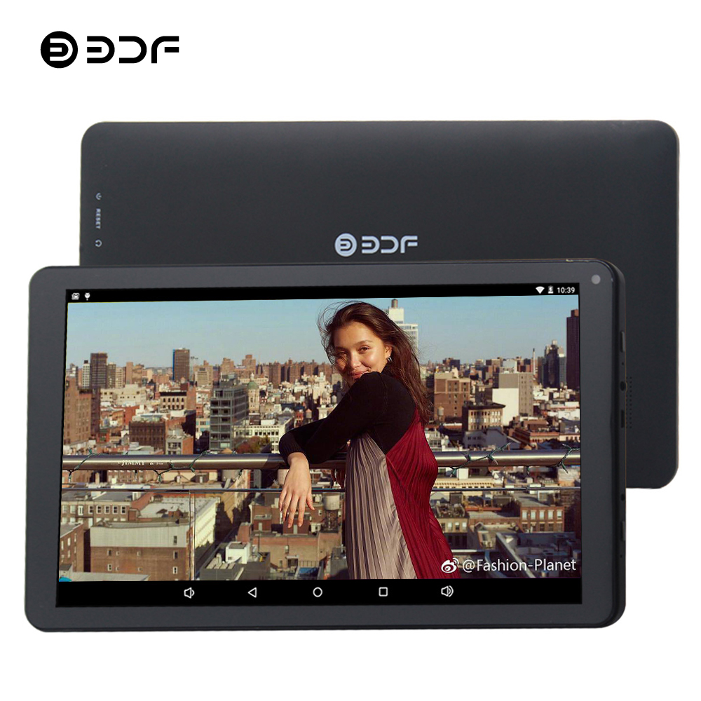 BDF 10 Inch Tablet Pc Android 5.1 Quad Core 1GB+32GB WiFi Tablet Android Laptop Tablet Support Google Play Store Pc Tablets 10.1