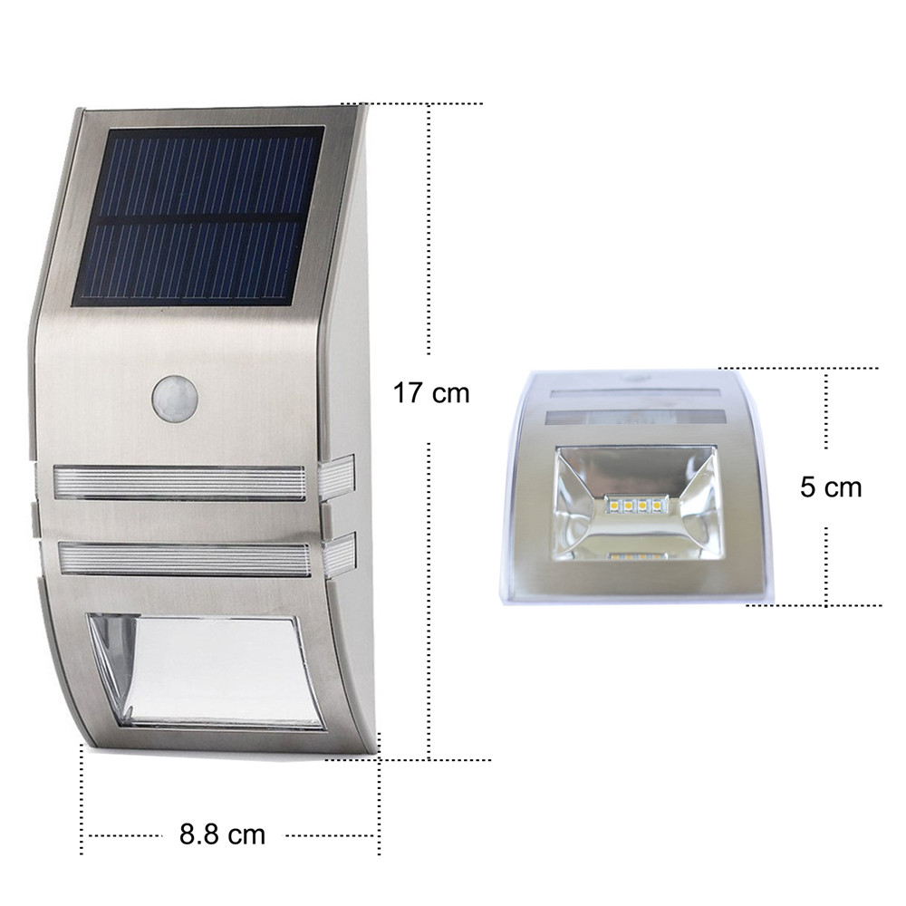 luz solar do jardim diodo emissor 02