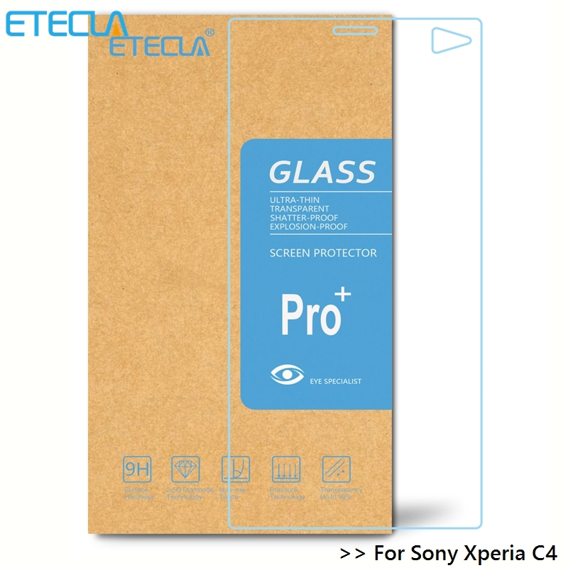 3Pcs For Sony Xperia C4 Tempered Glass On  Sony C4 Glass Experia C4 Dual E5333 E5303 E5306 E5353 E5343 E5363 Screen Protector